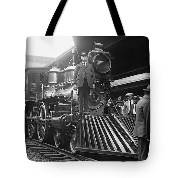 William Crooks 4-4-0 Steam Locomotive Tote Bag
