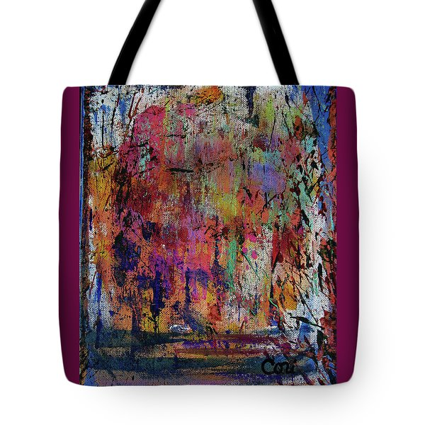 Tote Bag featuring the painting Willow by Corinne Carroll