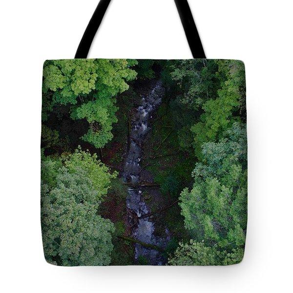 Willow Run Creek Tote Bag