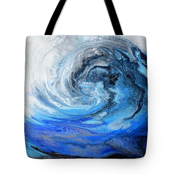 Wind And Wave Tote Bag