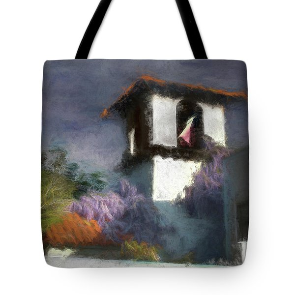Wind In The Tower Washline Tote Bag