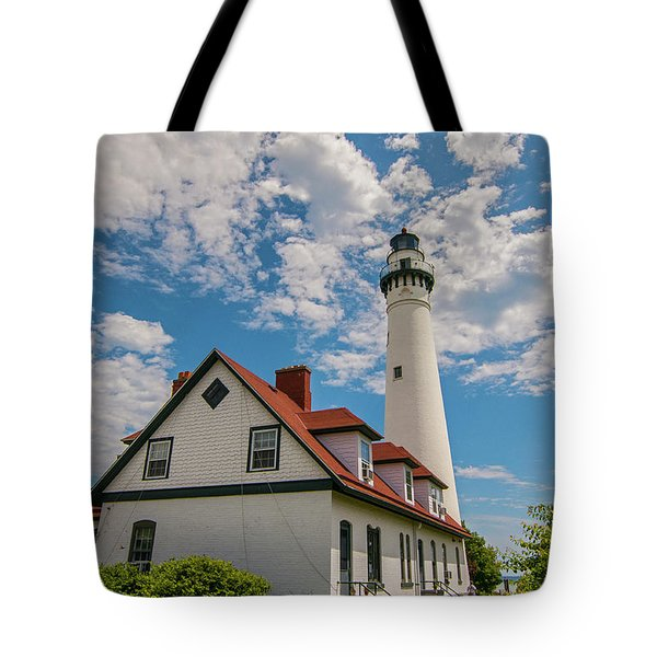 Wind Point Lighthouse No. 2 Tote Bag