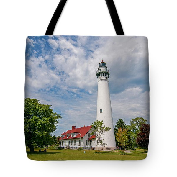 Wind Point Lighthouse No 3 Tote Bag