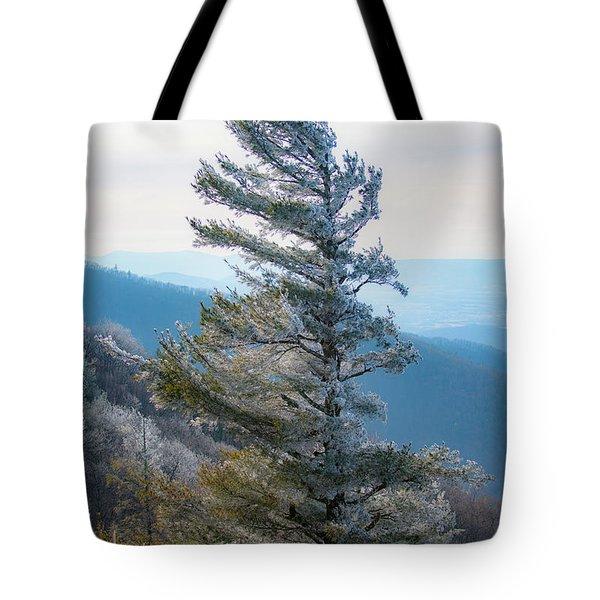 Wind Shaped Tote Bag