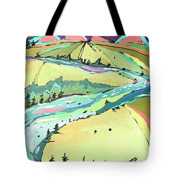 Winding Tote Bag