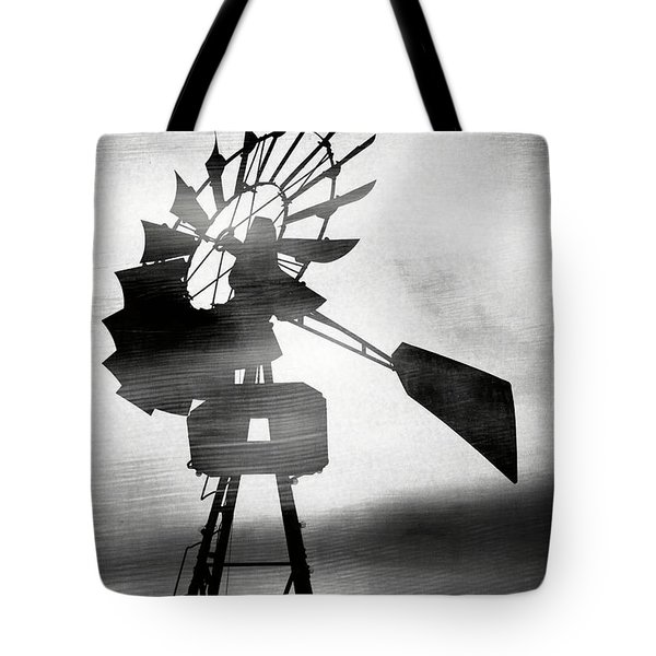 Windmill In The Wind- Art By Linda Woods Tote Bag