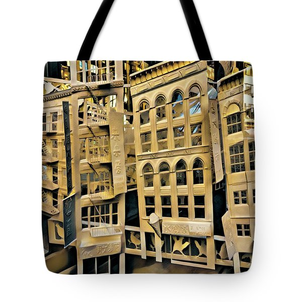 Tote Bag featuring the photograph Window Display by Chris Lord
