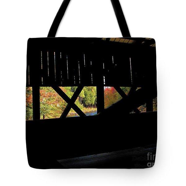 Window To Fall Tote Bag