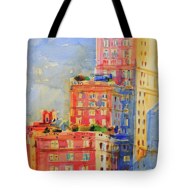 Windows In The Upper East Side Tote Bag