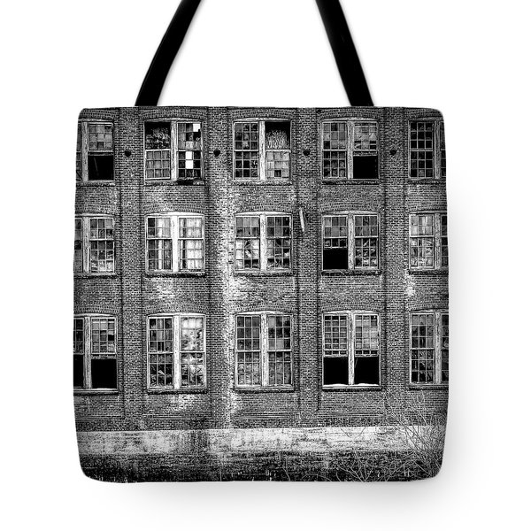 Windows Of Old Claremont Tote Bag