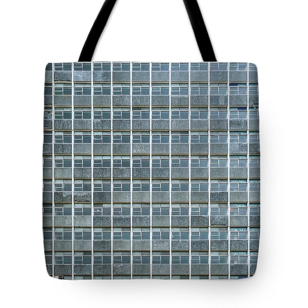 Windows Pattern Modern Architecture Tote Bag