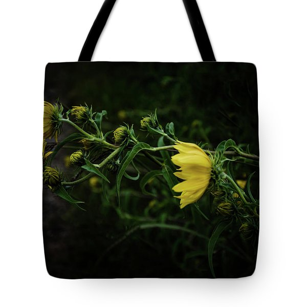 Windy Weeds Tote Bag