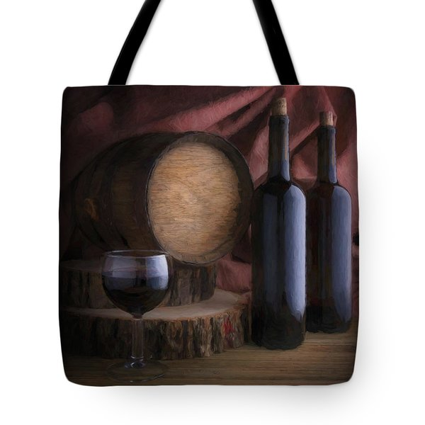 Wine Cellar Still Life Tote Bag