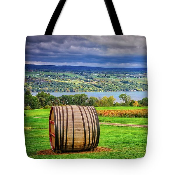 Tote Bag featuring the photograph Wine Country - Finger Lakes, New York by Lynn Bauer