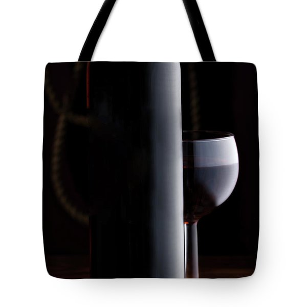 Wine Still Life With Cork Tote Bag
