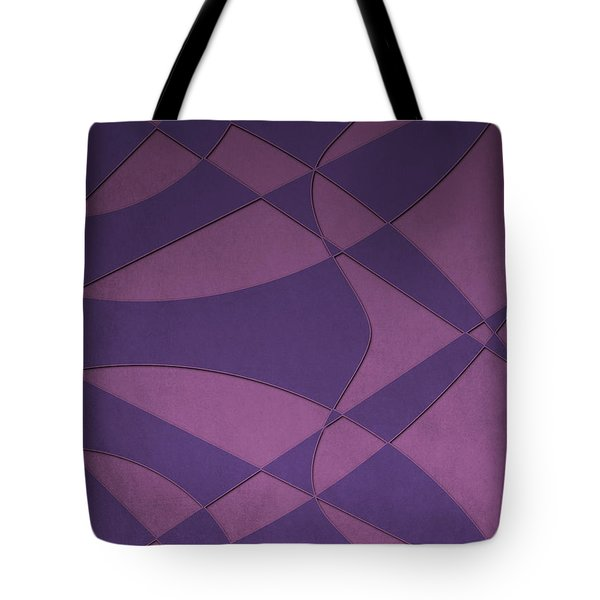 Wings And Sails - Purple And Pink Tote Bag