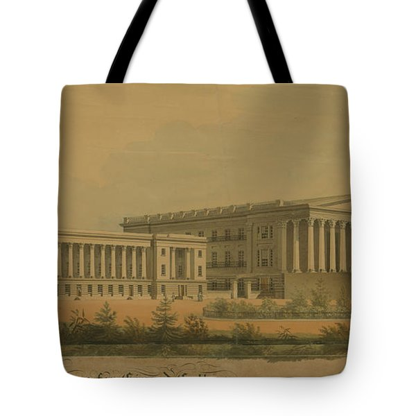 Winning Competition Entry For Girard College Tote Bag