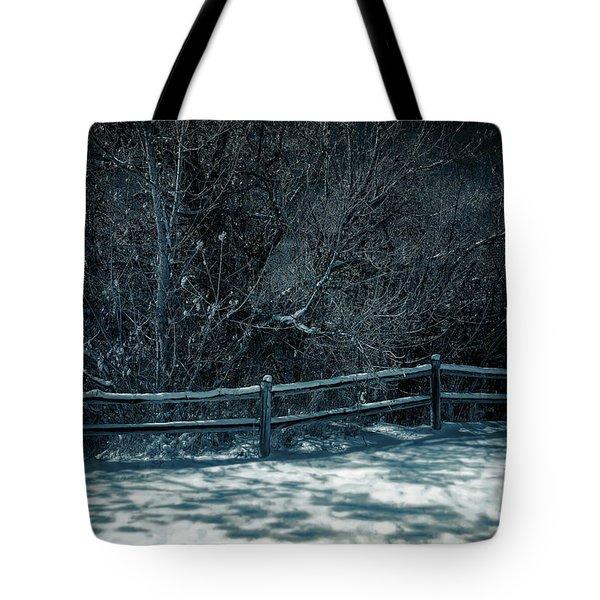 Winter Arrived Tote Bag