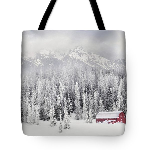 Winter Blessings Tote Bag