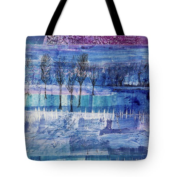 Winter Blues 1 Tote Bag