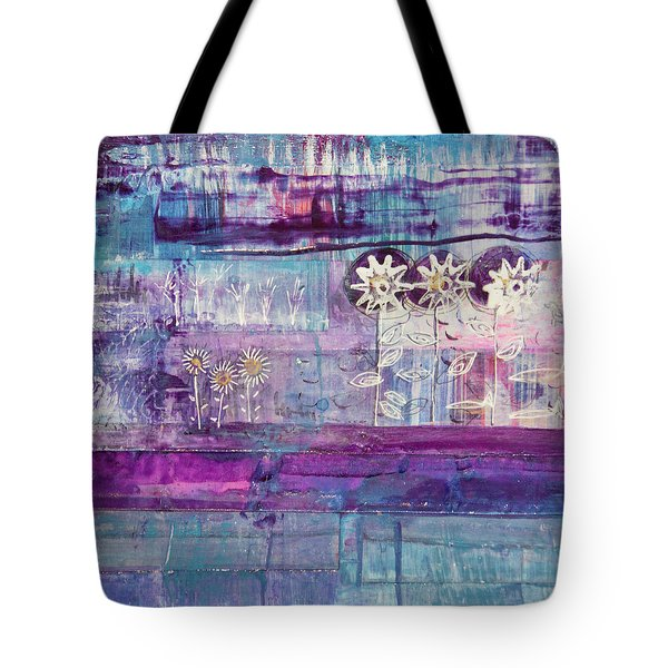 Winter Blues 2 Tote Bag