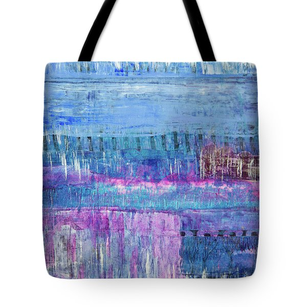 Winter Blues 3 Tote Bag