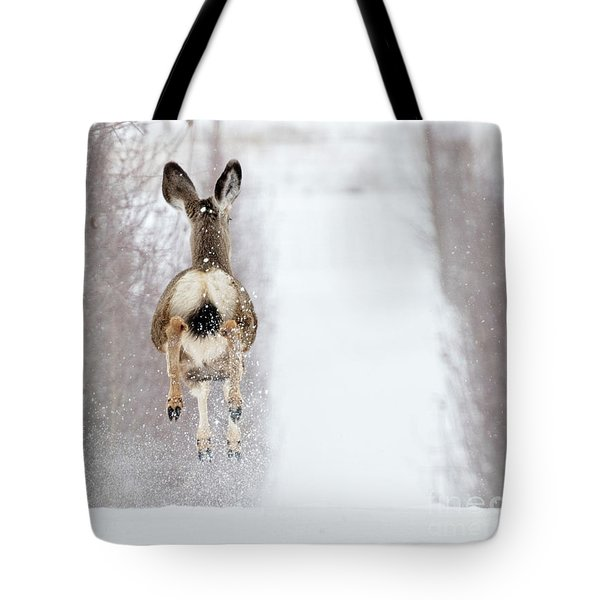 Winter Bounce Tote Bag