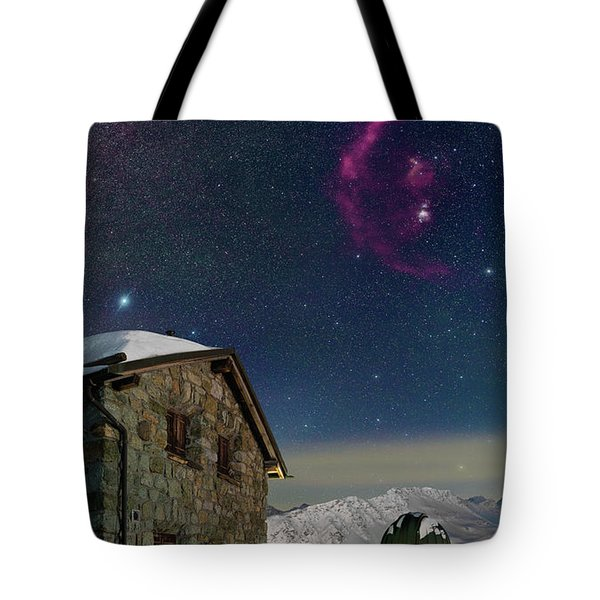 Winter Bounty Tote Bag