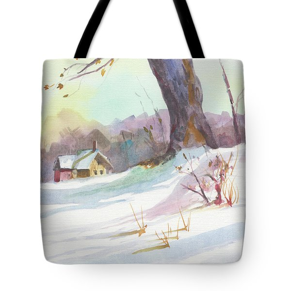 Winter Break Tote Bag