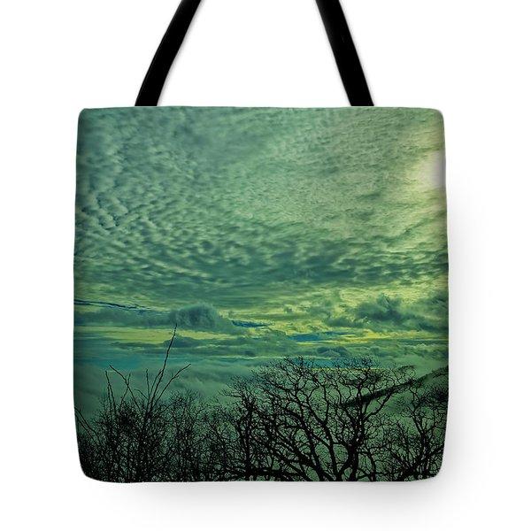 Winter Clouds Tote Bag