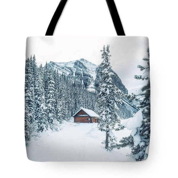 Winter Comes When You Dream Of Snow Tote Bag