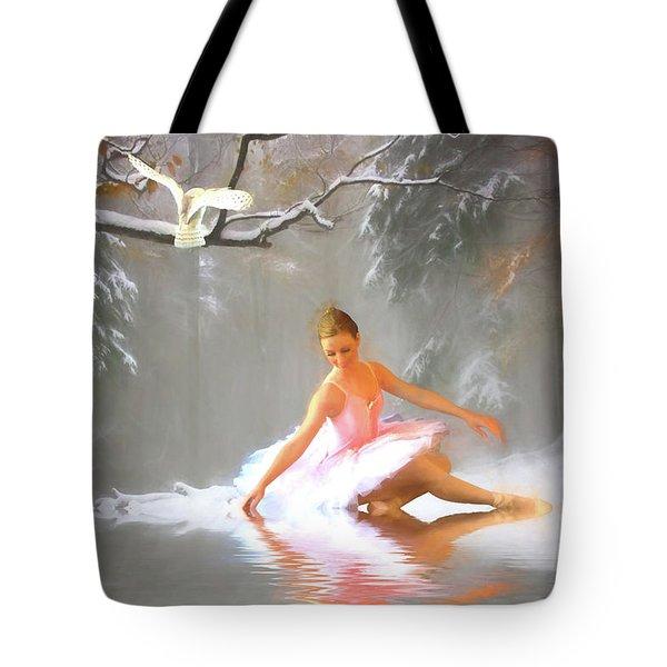 Winter Dancer Tote Bag