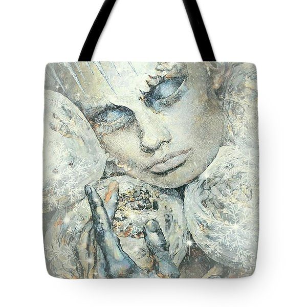 Winter Elf In Slumber Tote Bag