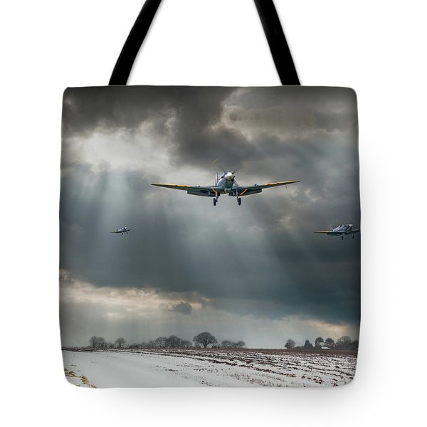 Tote Bag featuring the photograph Winter Homecoming by Gary Eason