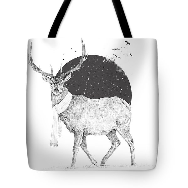 Winter Is All Around Tote Bag