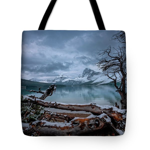 Winter Is Coming Bow Lake Tote Bag