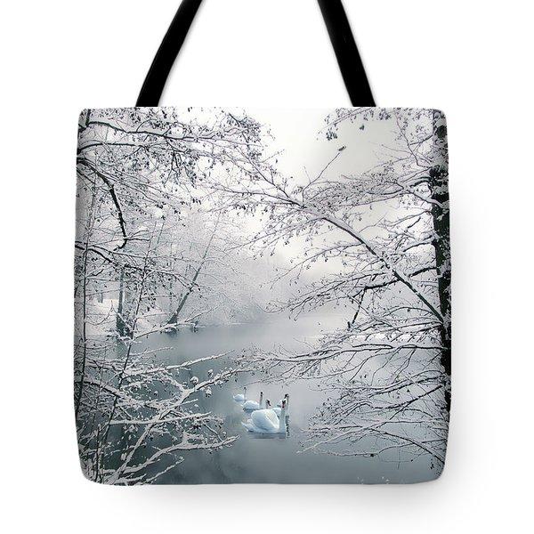 Winter Journey Tote Bag