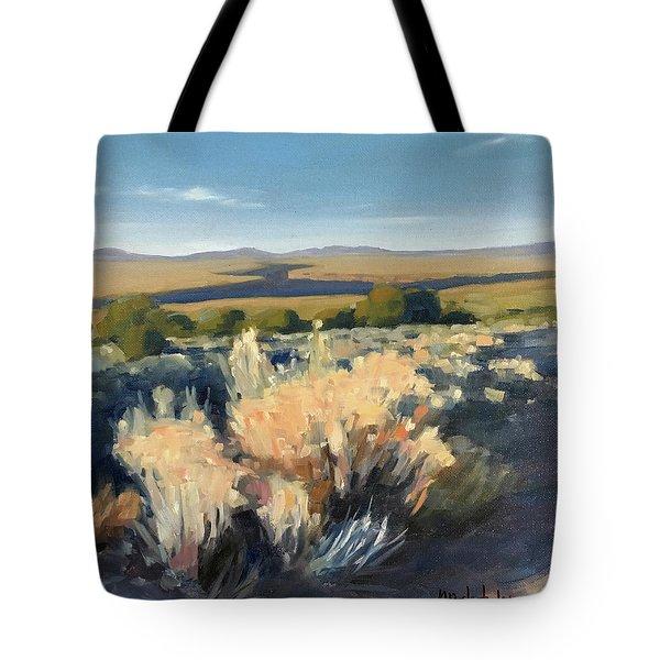 Winter Palette Tote Bag