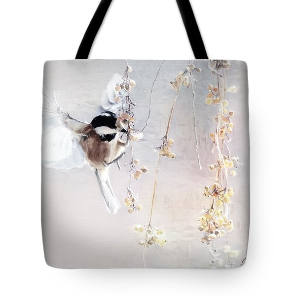 Winter Visitor Tote Bag