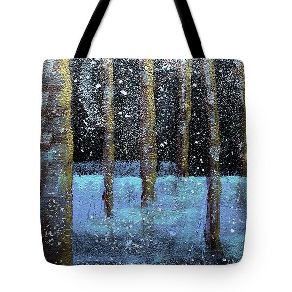 Wintry Scene I Tote Bag