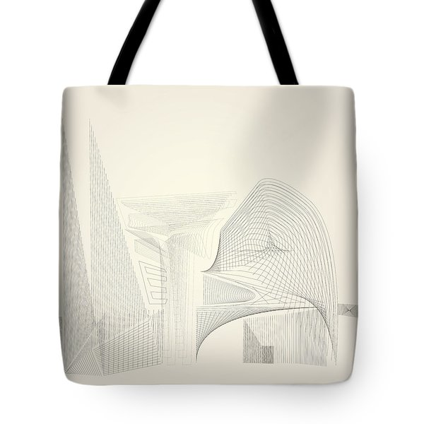 Wire Folly Complex Tote Bag