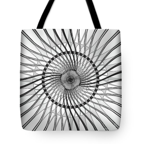 Wire Frame Tote Bag