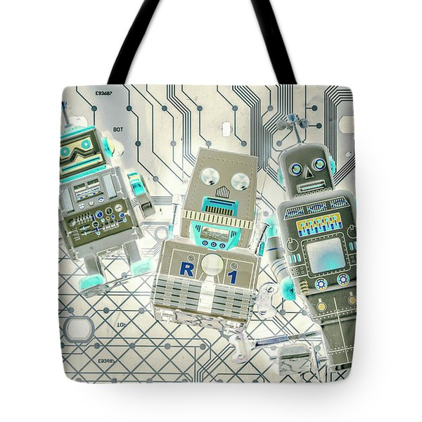 Wired Intelligence Tote Bag