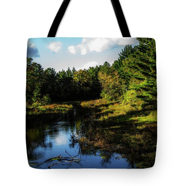 Wisconsin Waterscape Tote Bag