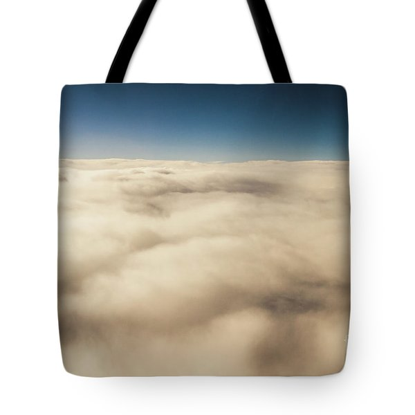 Wispy Heavens  Tote Bag