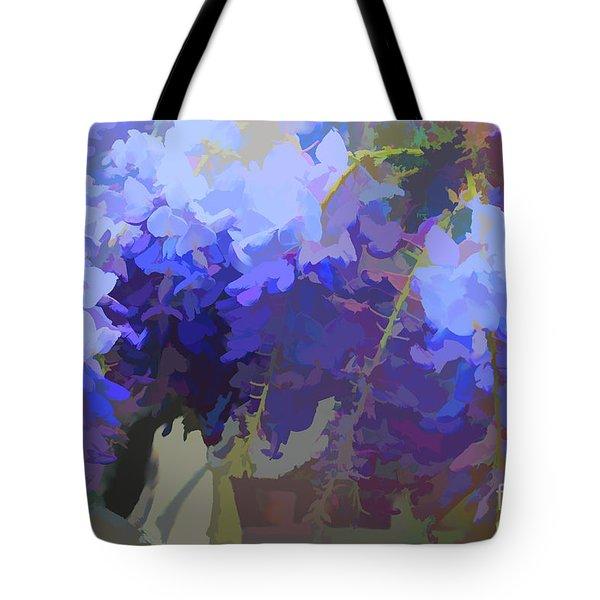Wisteria Colours Tote Bag