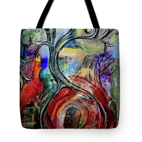 Witching Tree Tote Bag