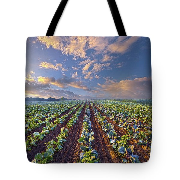 Tote Bag featuring the photograph With A Faith Born Not Of Words But Of Deeds by Phil Koch