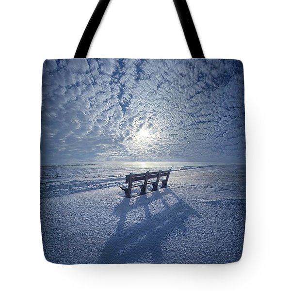 Within The Absence Are The Memories Tote Bag