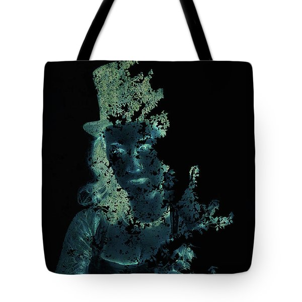 Within The Leaves Tote Bag